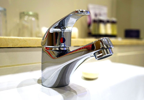 Photo of a shining new tap