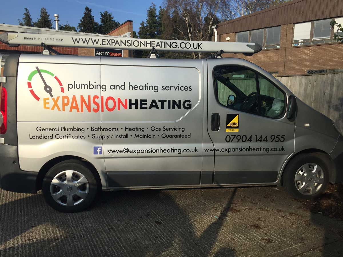 Expansion Heating Van